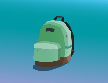 Backpack Low-Poly
